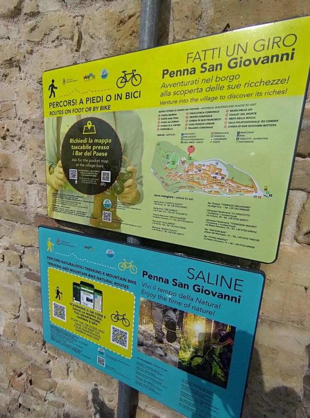 Penna San Giovanni Bike Tour