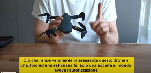 Il primo drone di fascia alta ad un prezzo economico – TORNA LO SCAM DI MAURO CERRAI