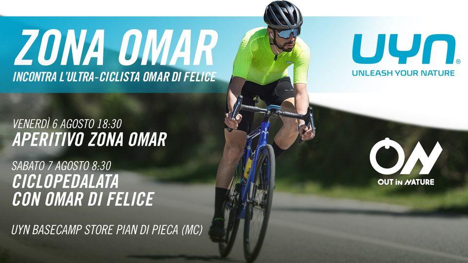 Zona Omar – Incontra l'ultraciclista Omar Di Felice