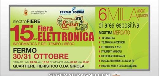 15° Fiera dell'elettronica a Fermo 30-31 Ottobre 2021