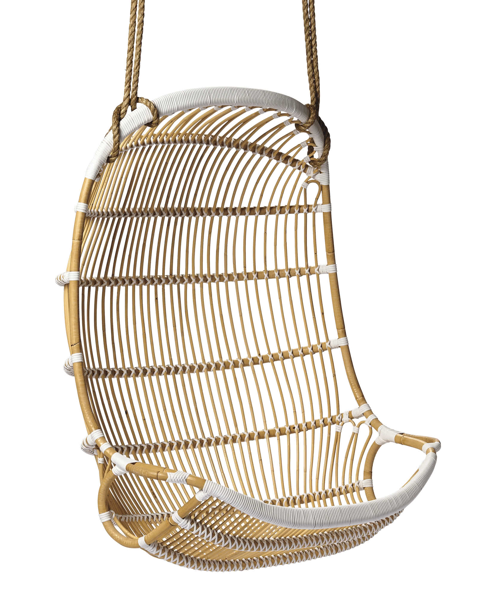 Hang Chair Double Hanging Rattan Chair Chairs Serena And Lily