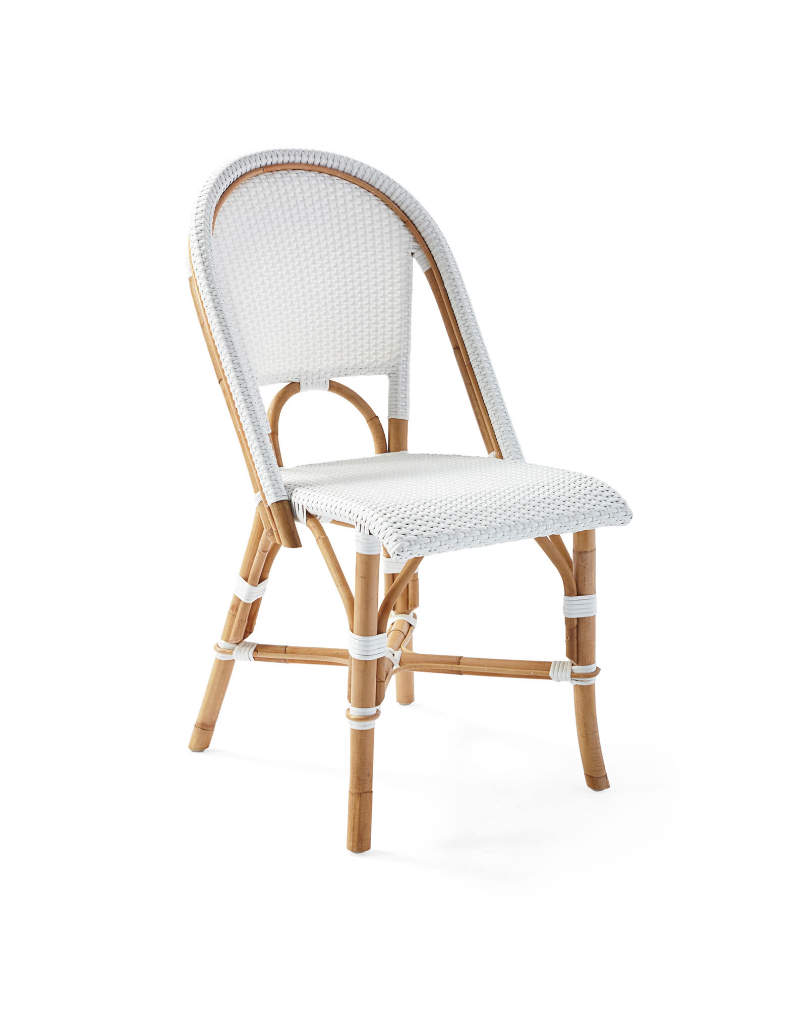 White Bistro Chairs Riviera Side Chair