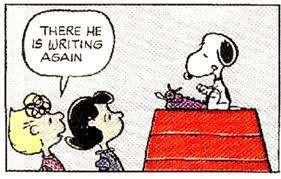 Scrivere come Snoopy scrivere tutti i giorni