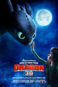 How to Train Your Dragon, 2010, poster