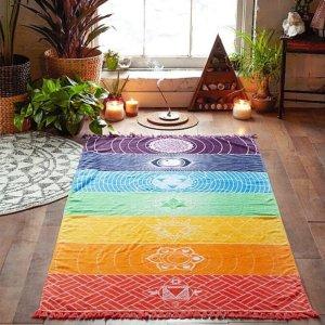Tapis Yoga Mandala 7 Chakras