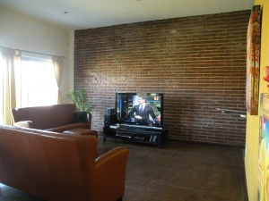Area de TV en Serena Care Rosarito