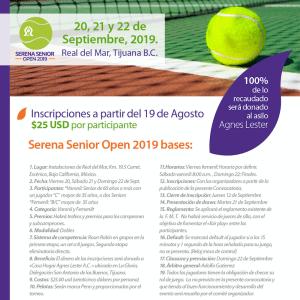 Serena Senior Open 2019