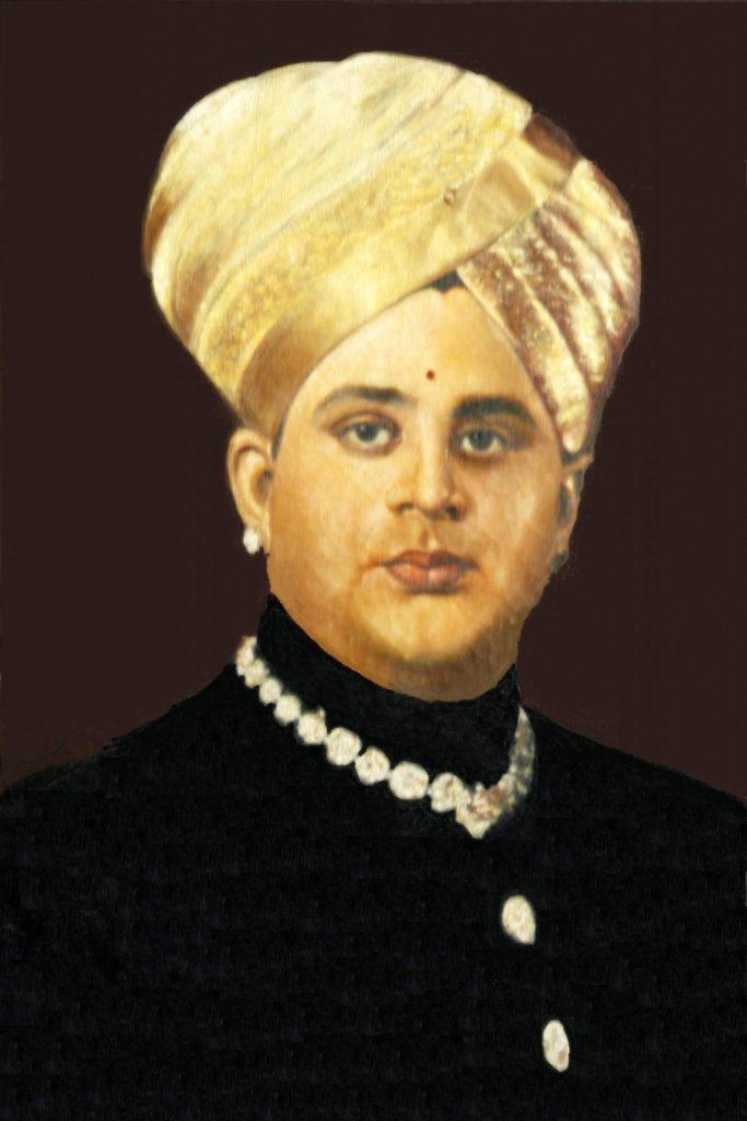 Court portrait of Jayachamarajendra Wadiyar of Mysore   Source: Wikimedia Commons
