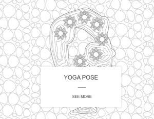 Yoga Coloring Book Image