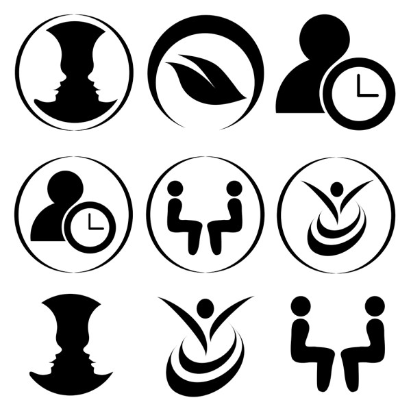 Counseling Icon Set