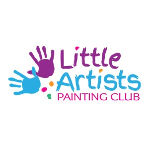 Kids Painting Logo Template
