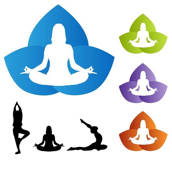 Yoga Logo Elements