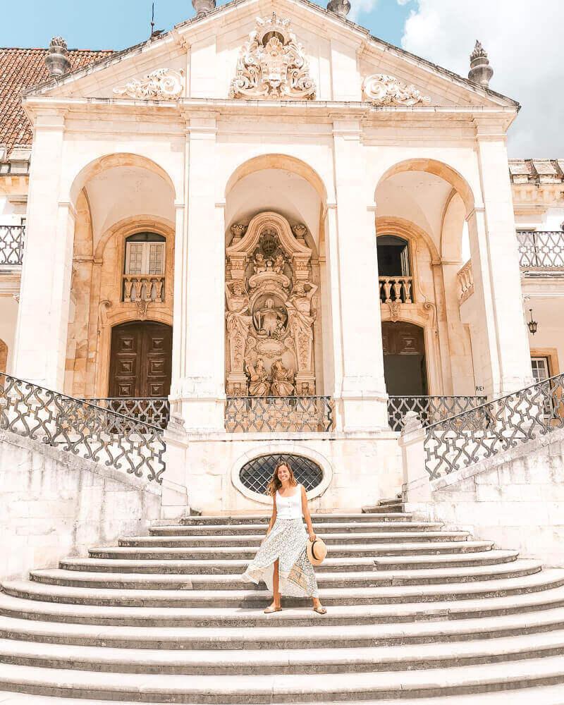 Los mejores Instagram spots en Portugal Coimbra