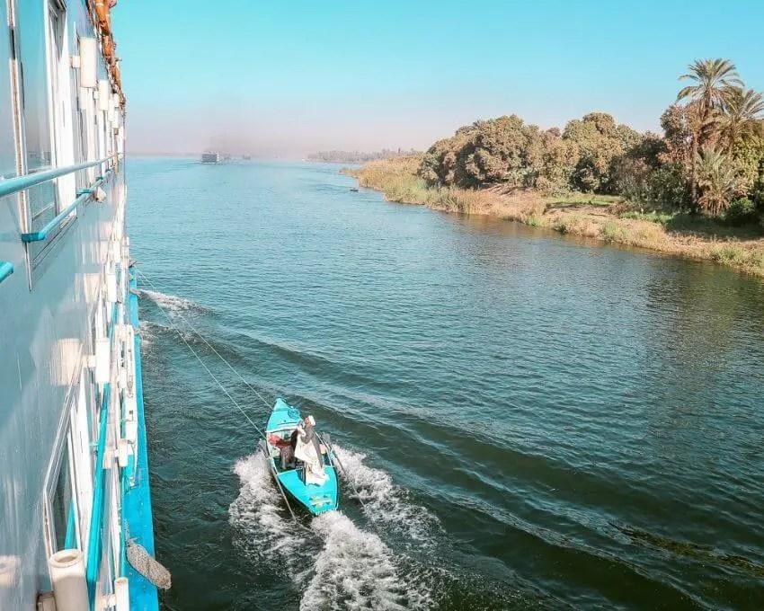 Qué ver en Egipto crucero en el Nilo