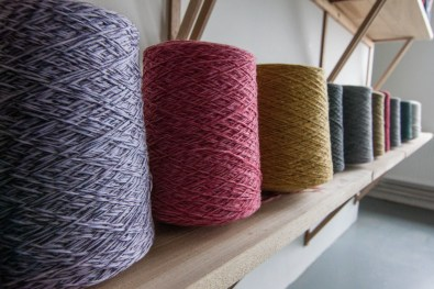 Ekotree in Doolin spins natural fibers into modern sweaters, hats, and shawls using thousand-year-old Irish patterns.