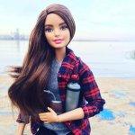 Termo y mate en miniatura con barbie uy