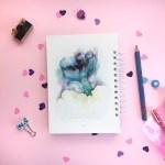Cuaderno con imagen de cola desirena