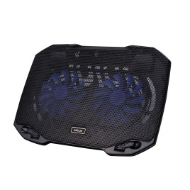 ASTRUM COOLING PAD DUAL FAN (BLACK) MODEL CP170