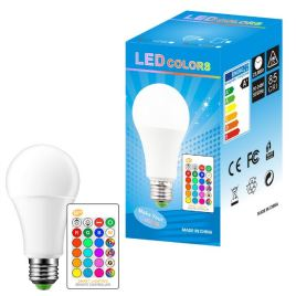 LED 16 Color Changing Bulb Sri Lanka 12W 220V RGB Led Lamp Spotlight + IR Remote Control LED Bulbs For Home