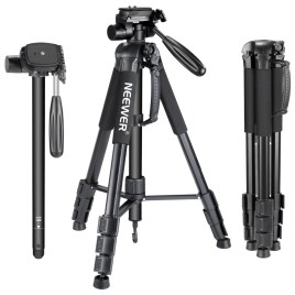 Lightweight Photography Tripod Stand Sri Lanka Aluminum Alloy with Carry Bag Phone Holder for Canon Sony Nikon DSLR Camera for iPhone Samsung Xiaomi Huawei Smartphone – Model WT3540