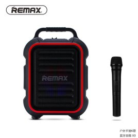 REMAX RB-X3 Outdoor Portable Bluetooth Speakers Sri Lanka with Microphone Big Bass Wireless Music Speaker for Phone/MP3 Player