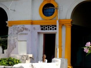 La Habana, señora calle K 2014