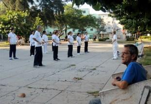 La Habana, artes marciales de madrugada 2015