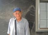 La Havane, señor St Laurent (sic) devant l'ICAIC, 2012.