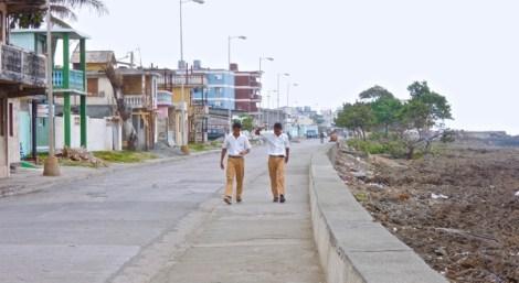 Le Malecon de Baracoa : constructions fragiles
