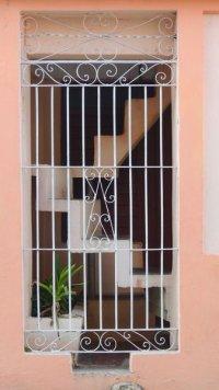 Escalier fait maison à Santiago de Cuba, 2015.