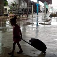 Arrivée du train en gare de La Havane