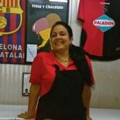 La vendeuse de la tienda en divisas de Coppelia, 31 décembre 2014.