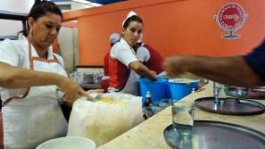 Les vendeuses de Coppelia, Camagüey 2012.