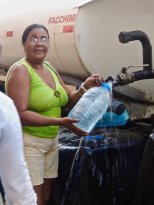 La Habana Vieja, distribution d'eau potable 2014