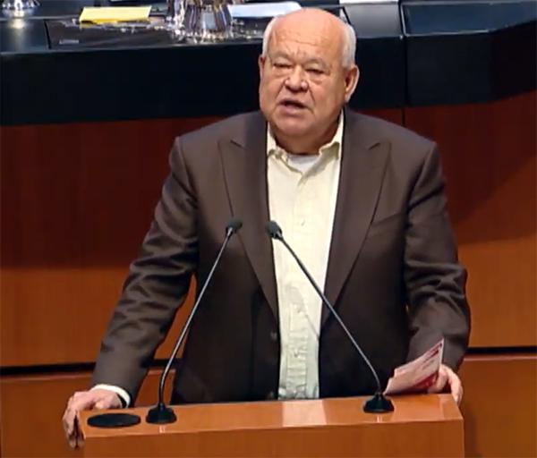 Víctor Manuel Castro, uno de los candidatos a gobernador en Baja California Sur
