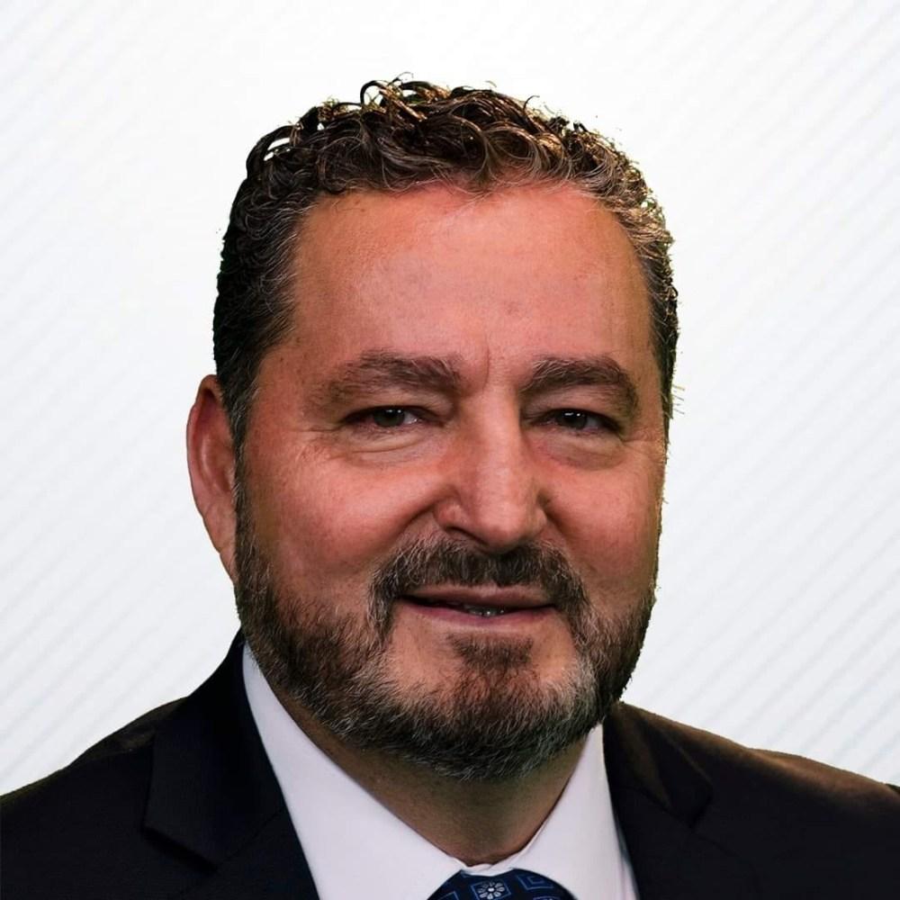 Carlos Atilano Peña, uno de los candidatos a gobernador en Baja California