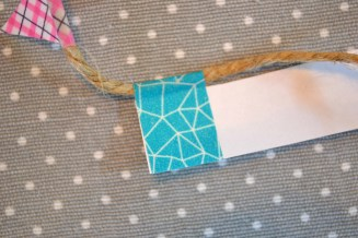 DIY Washi Tape Bunting - serendipidiy.wordpress.com