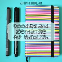 Doodles & Zentangle - Flip Through 📒 🖌