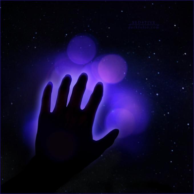 オーラの色,オーラ 紫色