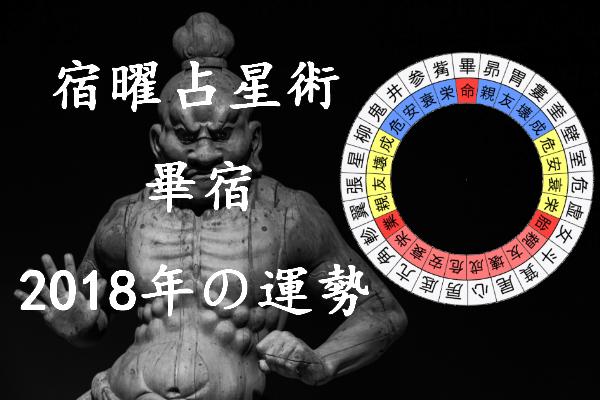 2018年 畢宿 運勢