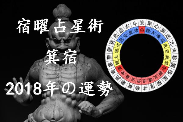 2018年 箕宿 運勢