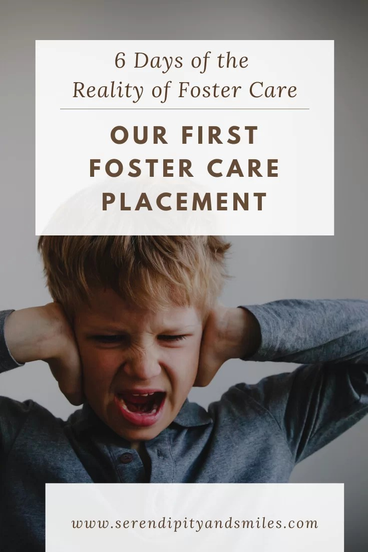Our First Foster Placement