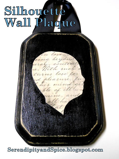 Silhouette Wall Plaque Tutorial