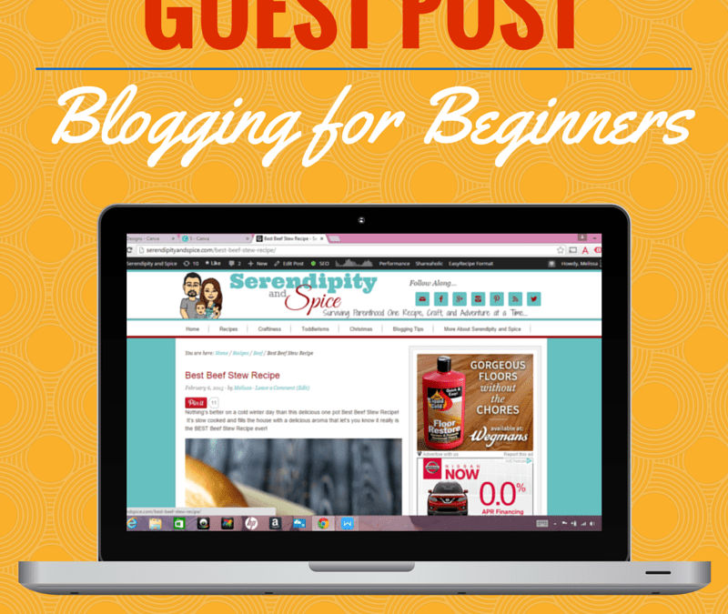 New Blogger Series – Guest Posting