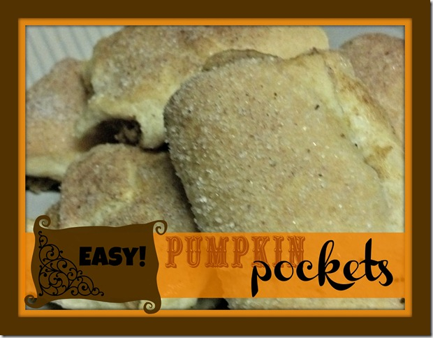 Pumpkin Pockets Pastry Recipe
