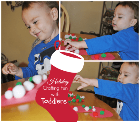 Crafting with Toddlers