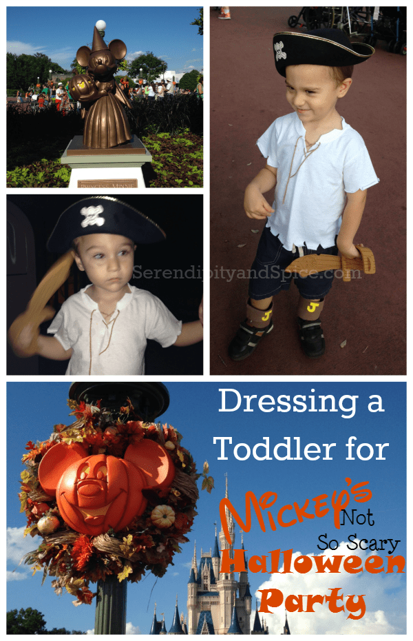 Tips for Taking a Toddler to Mickey's Not So Scary Halloween Party