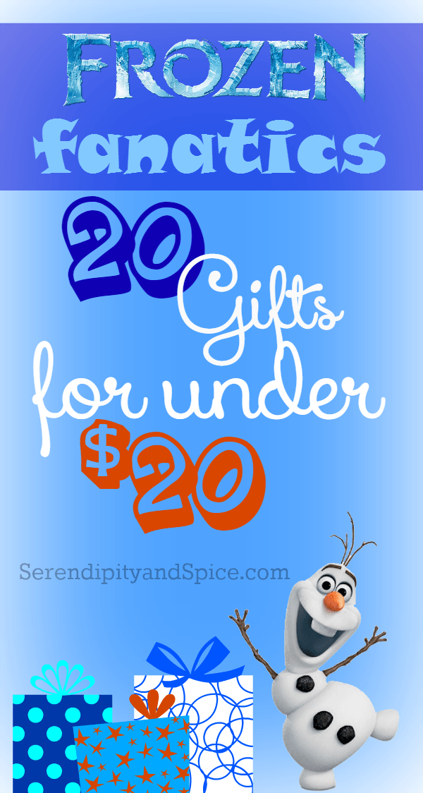 Top 20 Frozen Gifts Under $20