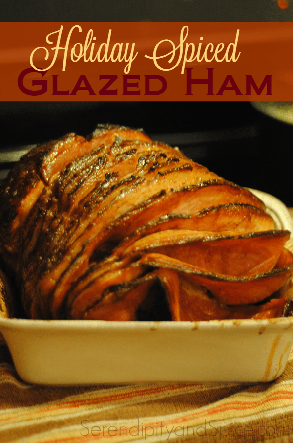 Spiced Glazed Ham Recipe
