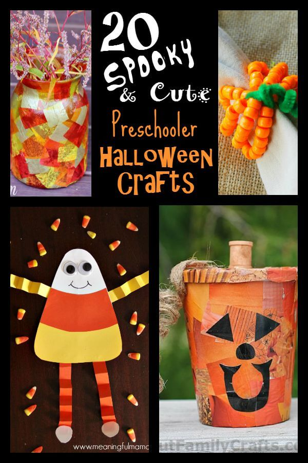 Halloween Crafts For Preschoolers Serendipity And Spice